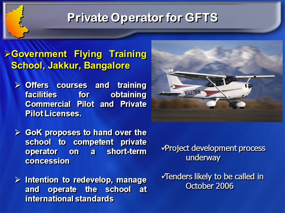 Private Operator for GFTS