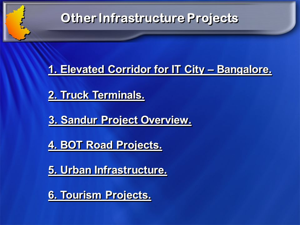 Other Infrastructure Projects