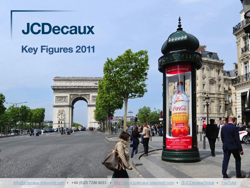 info@jcdecaux-oneworld. com • +44 (0)20 7298 8051 • http://www