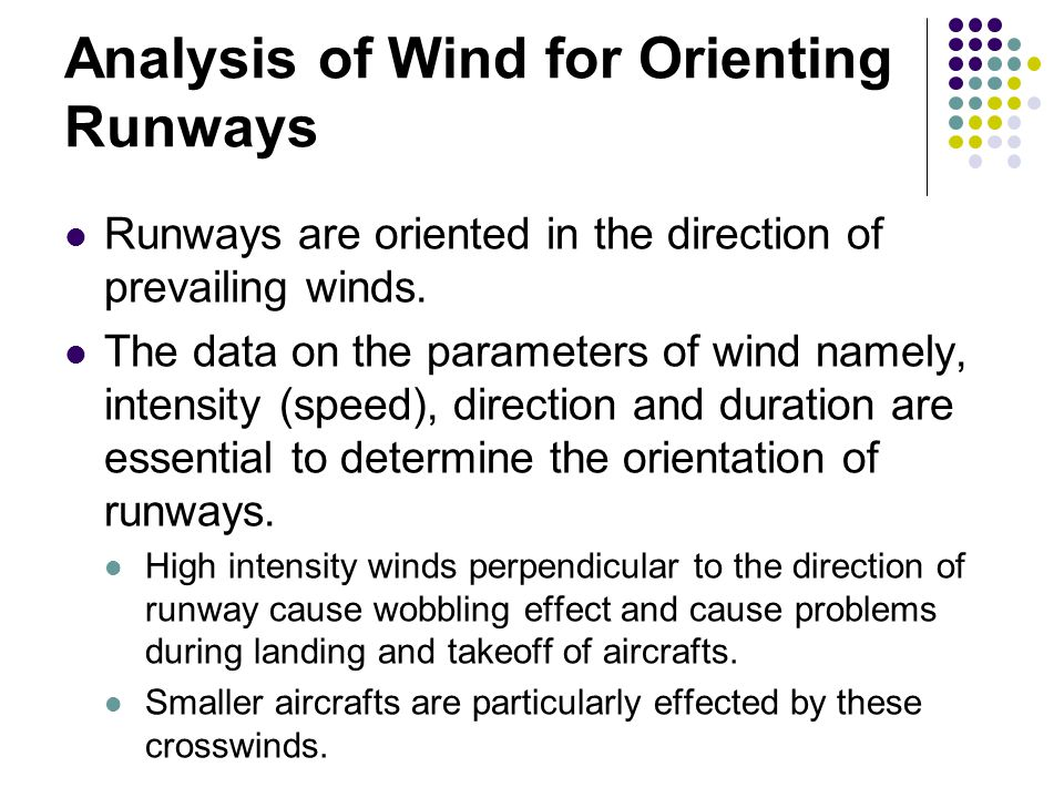 Analysis of Wind for Orienting Runways