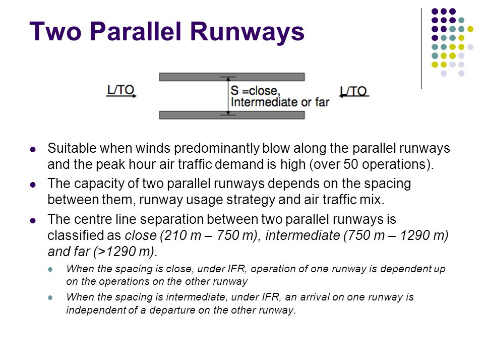 Two Parallel Runways