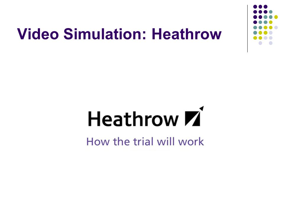 Video Simulation: Heathrow