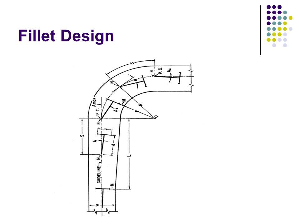 Fillet Design