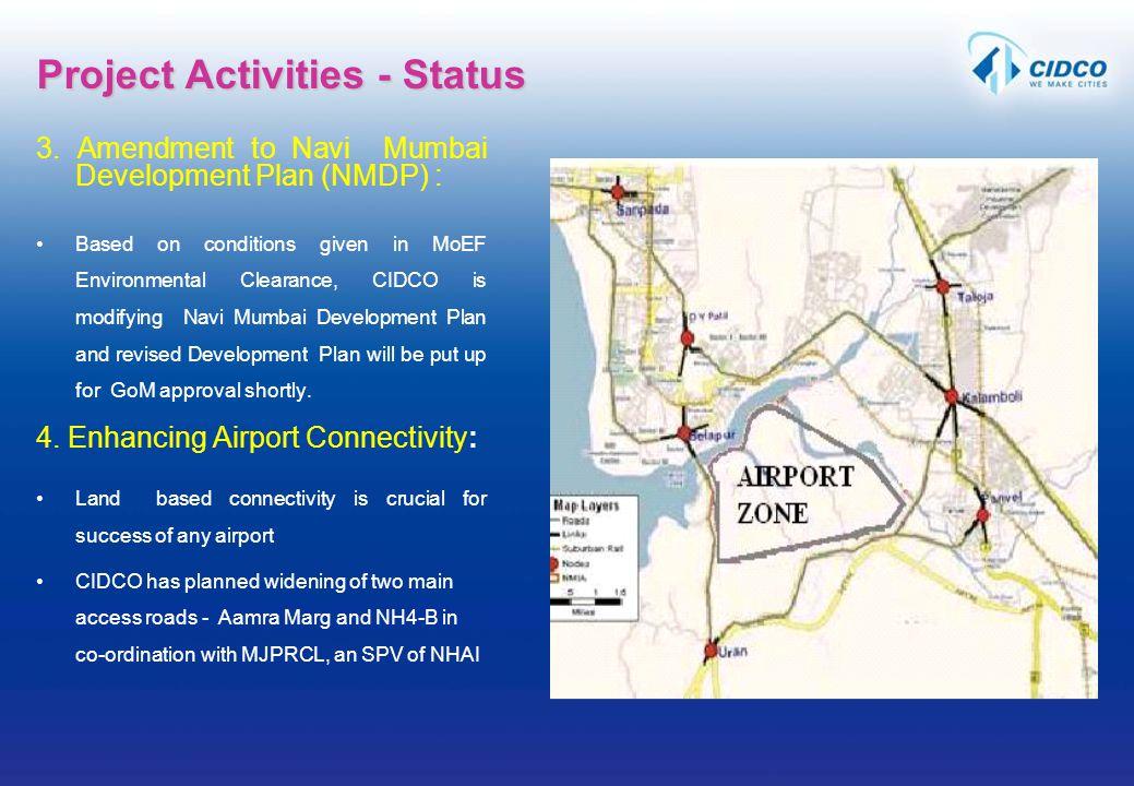 Project Activities - Status
