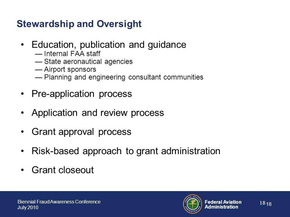 Stewardship and Oversight