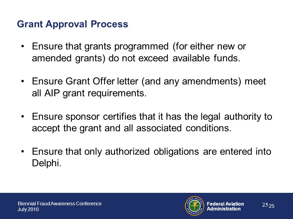 Grant Approval Process