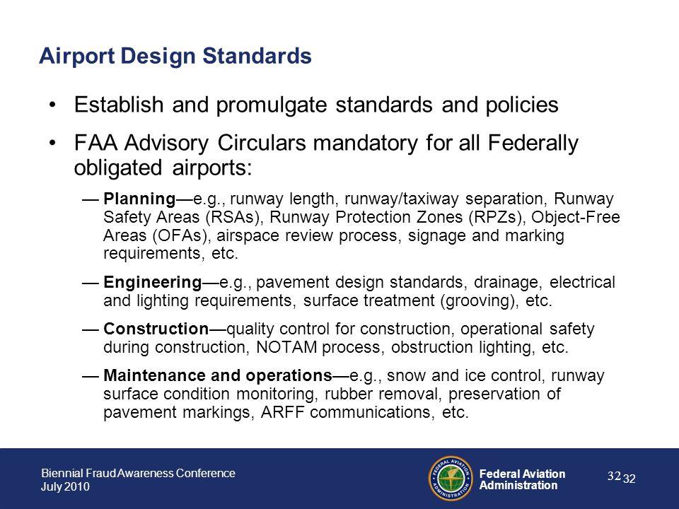 Airport Design Standards