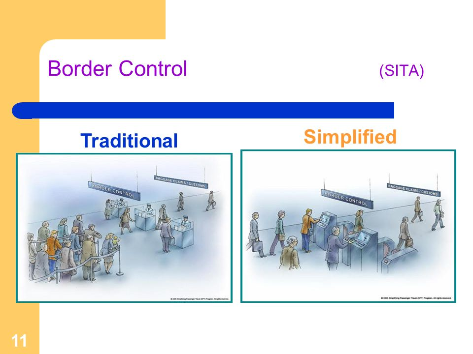 Border Control (SITA) Simplified Traditional