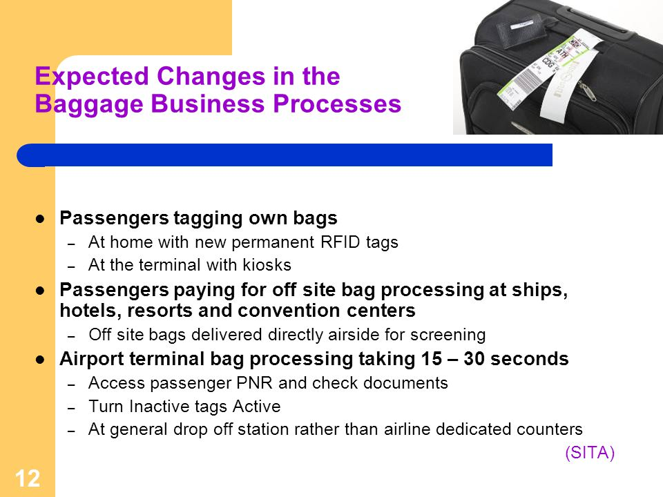 Expected Changes in the Baggage Business Processes