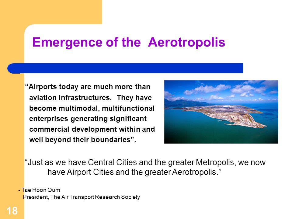Emergence of the Aerotropolis