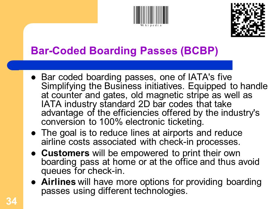 Bar-Coded Boarding Passes (BCBP)
