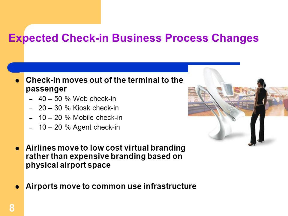 Expected Check-in Business Process Changes