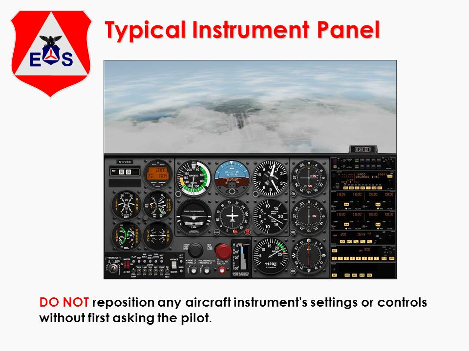 Typical Instrument Panel