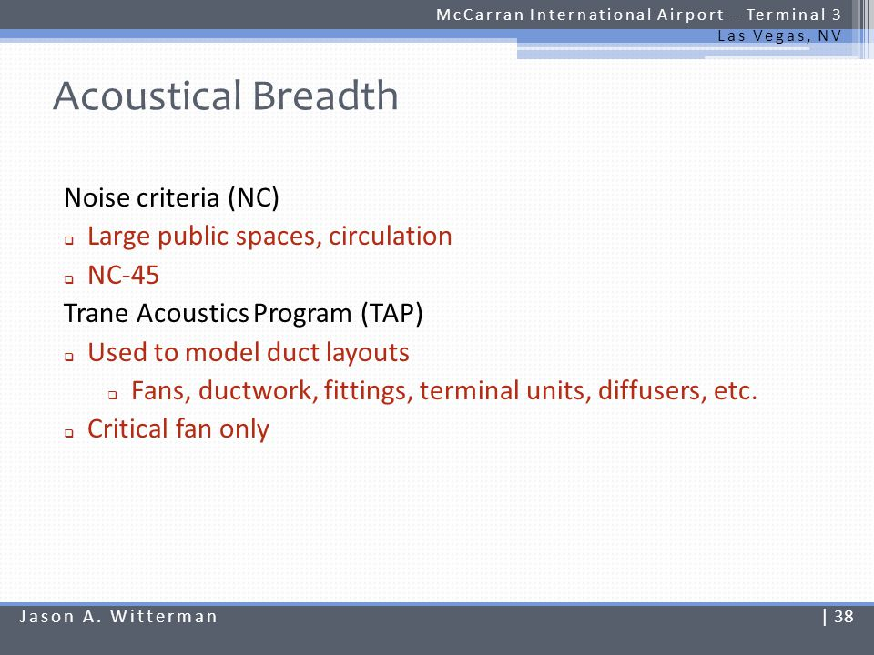 Acoustical Breadth Noise criteria (NC)