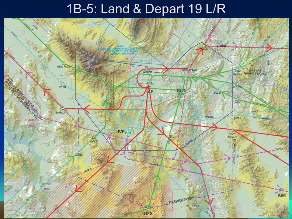 1B-5: Land & Depart 19 L/R