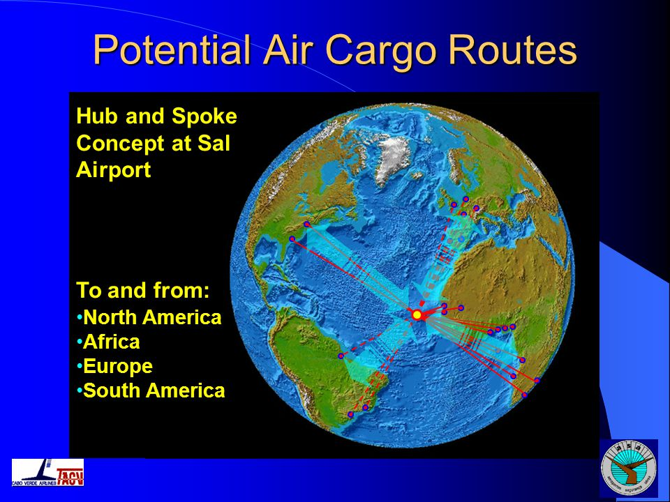 Potential Air Cargo Routes