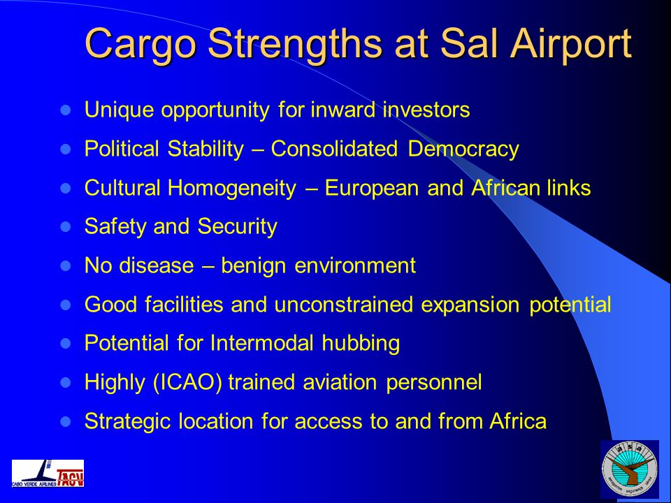 Cargo Strengths at Sal Airport