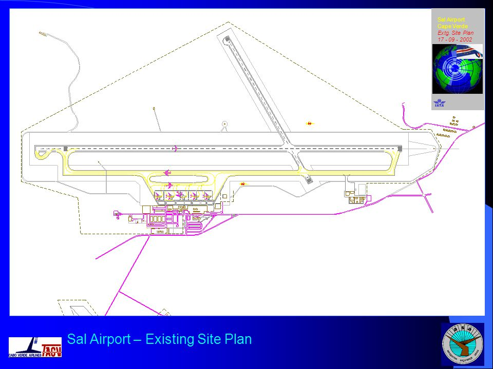 Sal Airport – Existing Site Plan