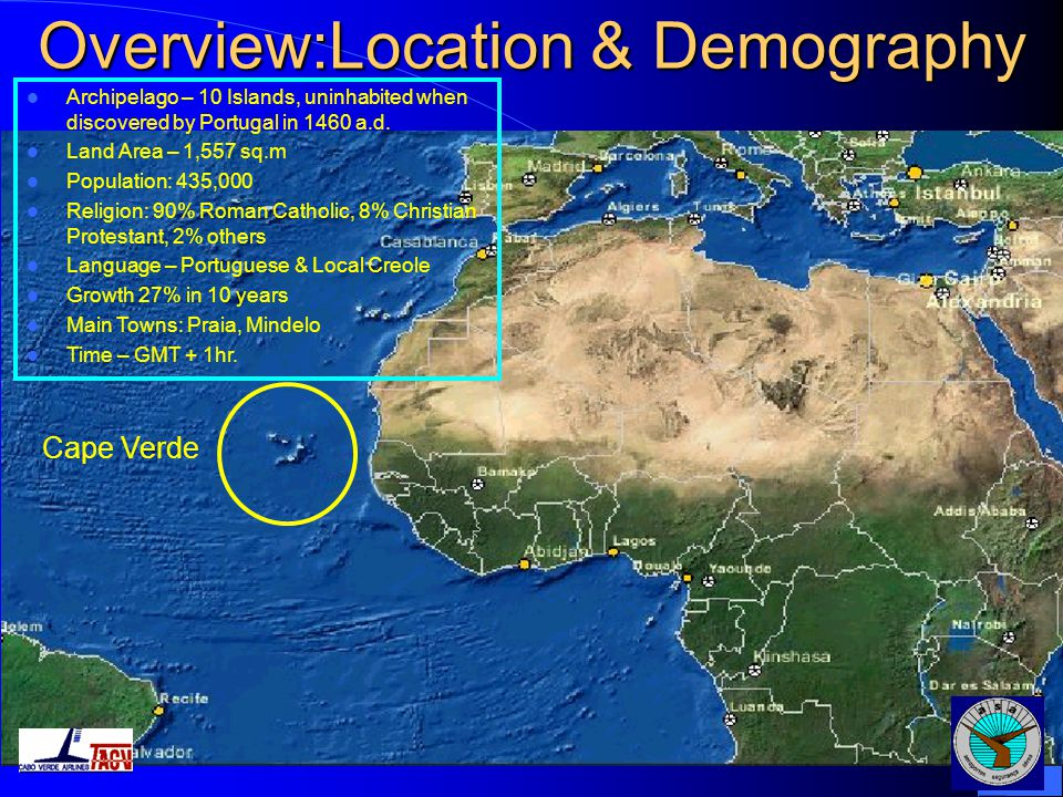 Overview:Location & Demography