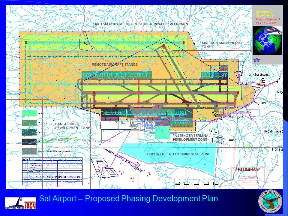 Sal Airport – Proposed Phasing Development Plan