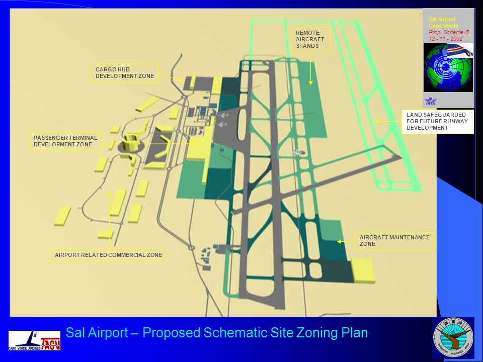Sal Airport – Proposed Schematic Site Zoning Plan