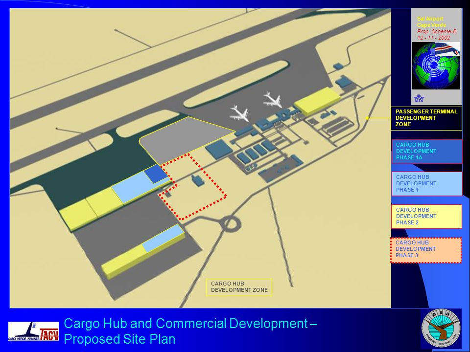 Cargo Hub and Commercial Development – Proposed Site Plan