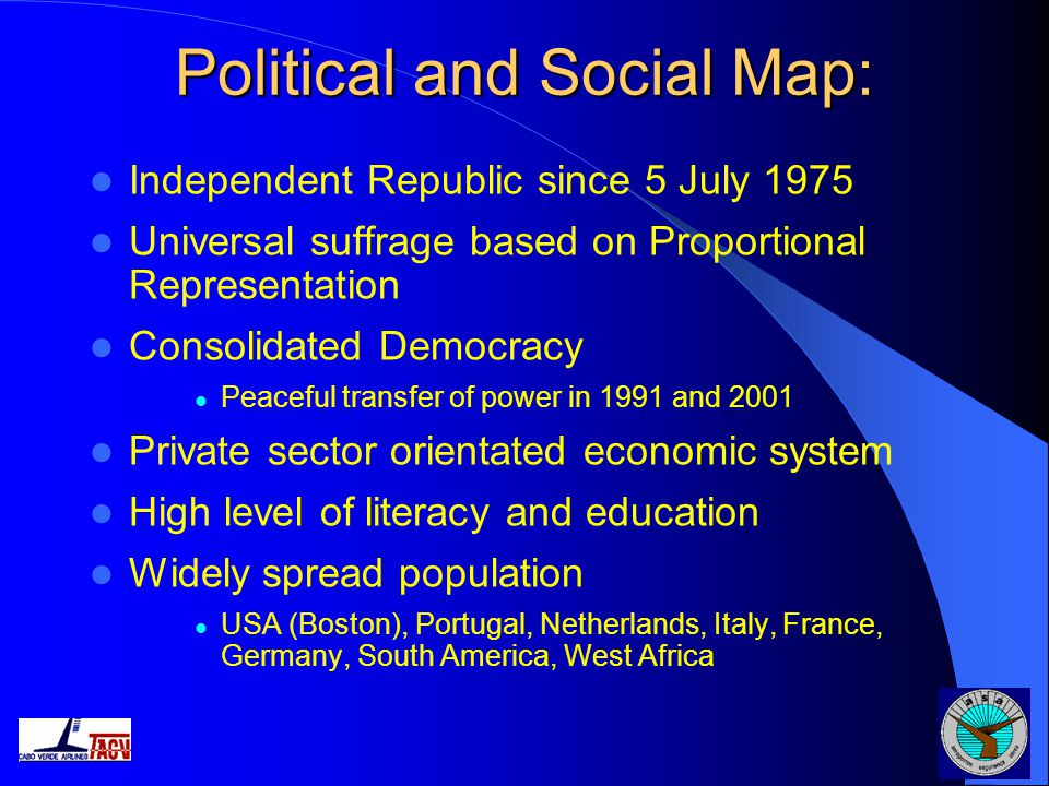 Political and Social Map: