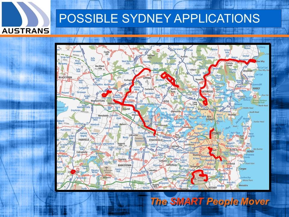 POSSIBLE SYDNEY APPLICATIONS