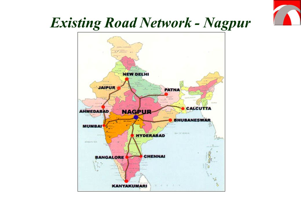 Existing Road Network - Nagpur