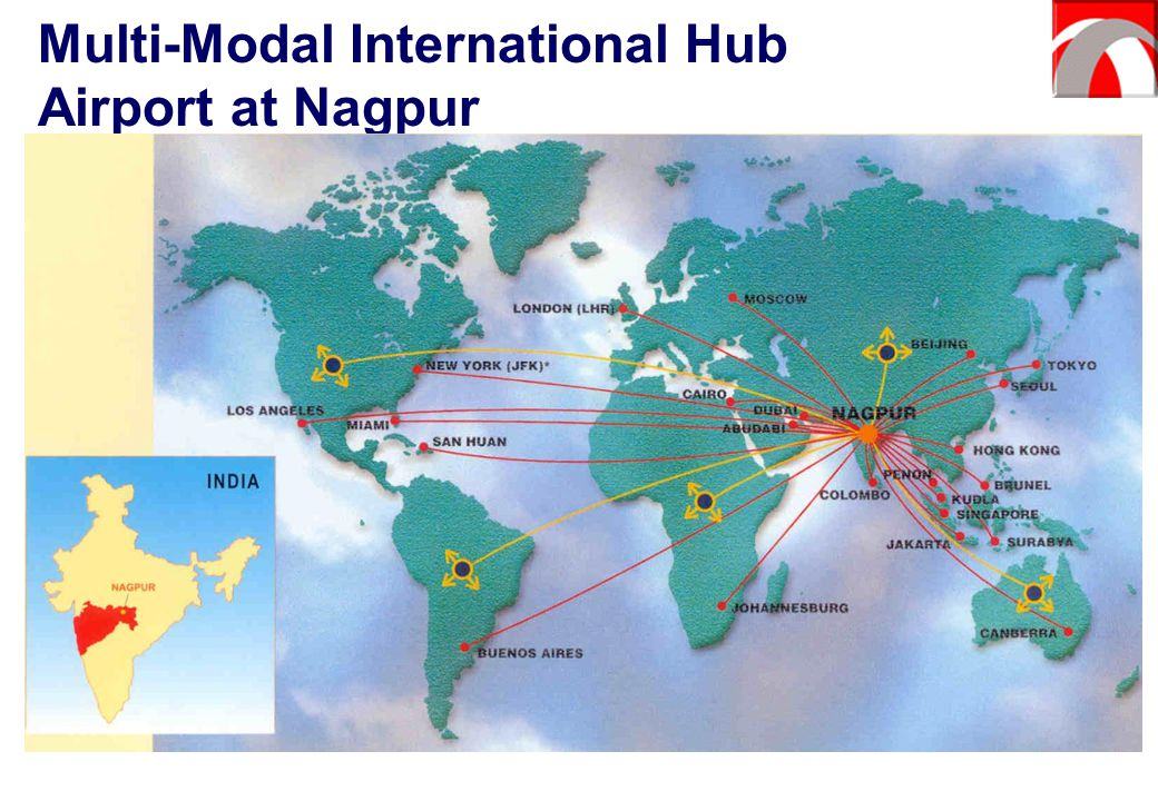Multi-Modal International Hub Airport at Nagpur