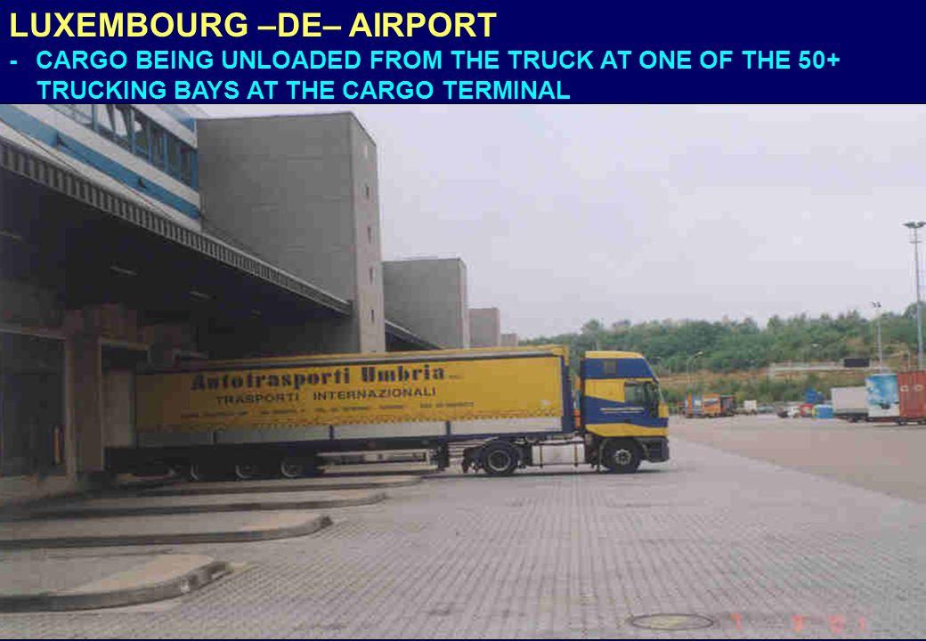 LUXEMBOURG –DE– AIRPORT