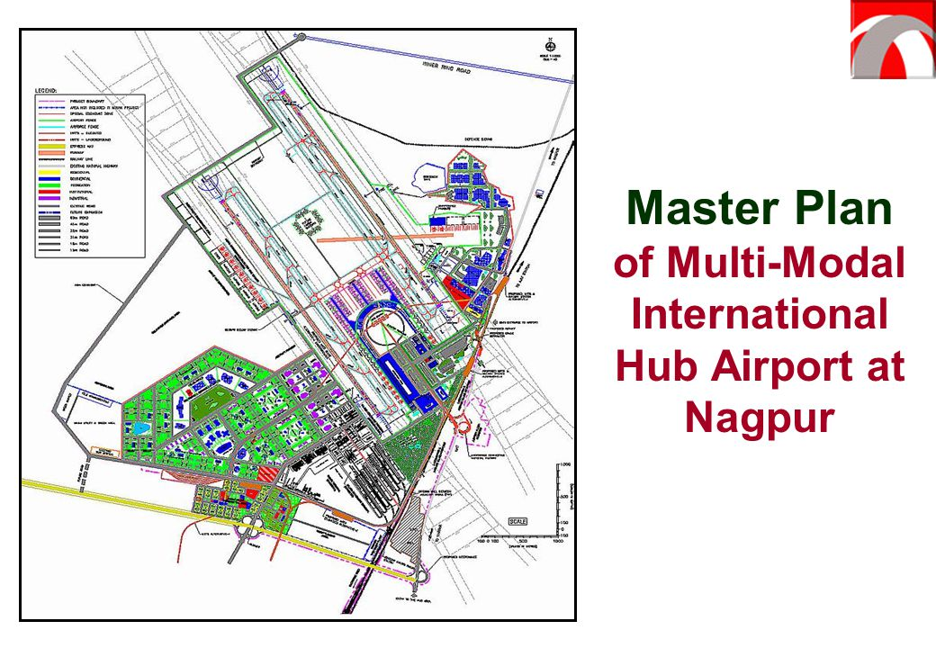 Master Plan of Multi-Modal International Hub Airport at Nagpur