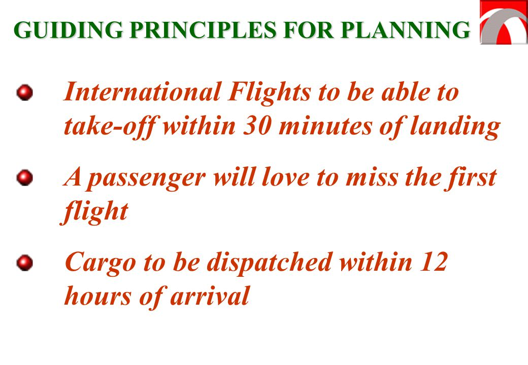 A passenger will love to miss the first flight