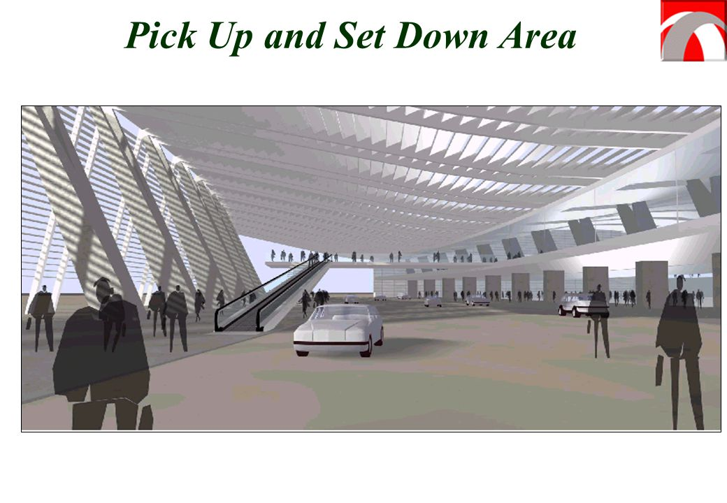 Pick Up and Set Down Area