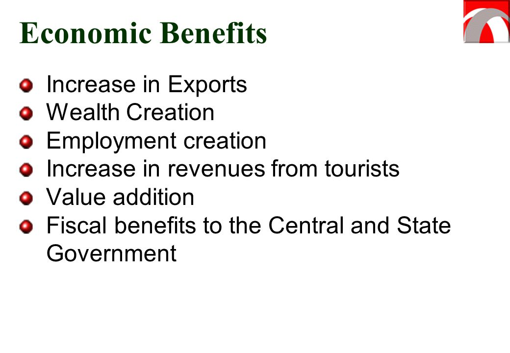 Economic Benefits Increase in Exports Wealth Creation
