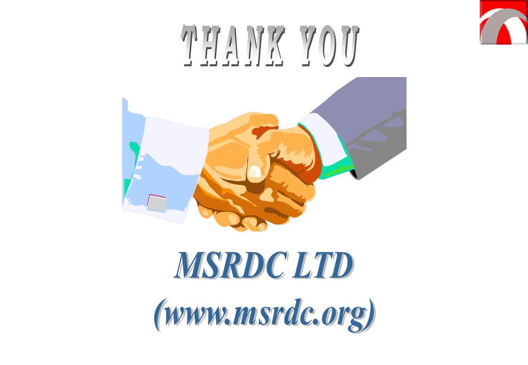 THANK YOU MSRDC LTD (www.msrdc.org)