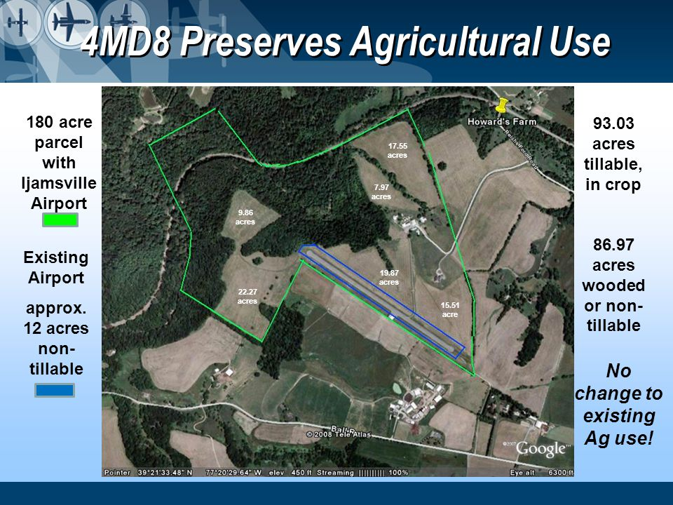 4MD8 Preserves Agricultural Use