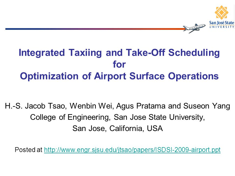 Integrated Taxiing and Take-Off Scheduling for Optimization of Airport Surface Operations