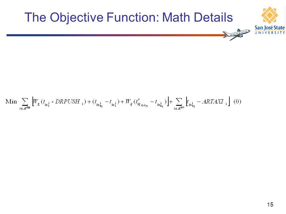 The Objective Function: Math Details