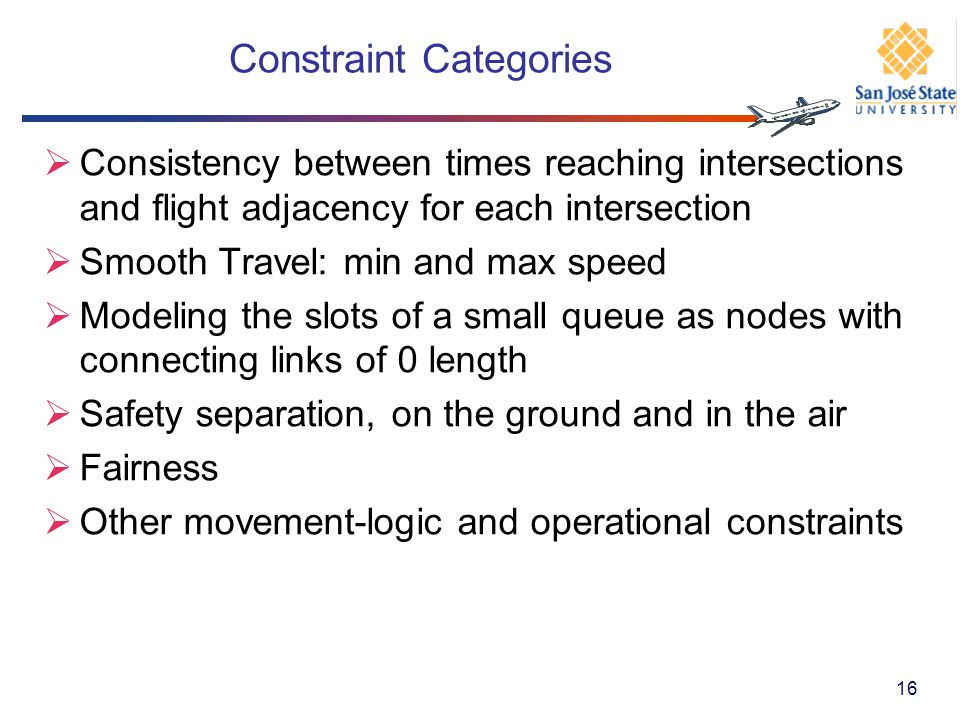 Constraint Categories
