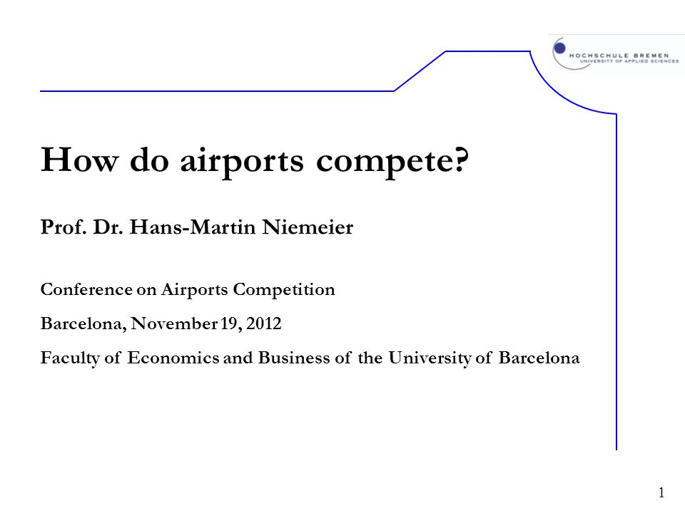 How do airports compete