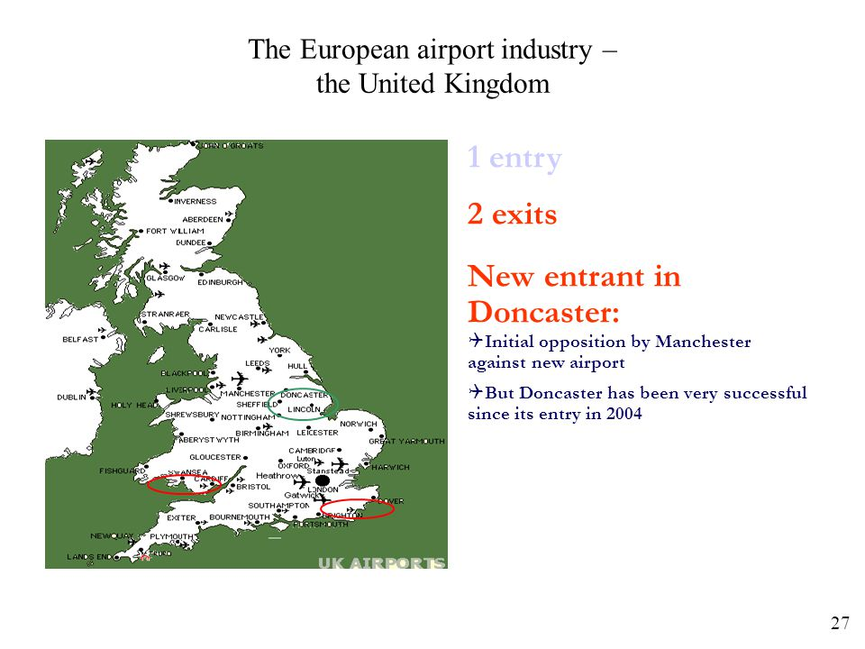 The European airport industry – the United Kingdom