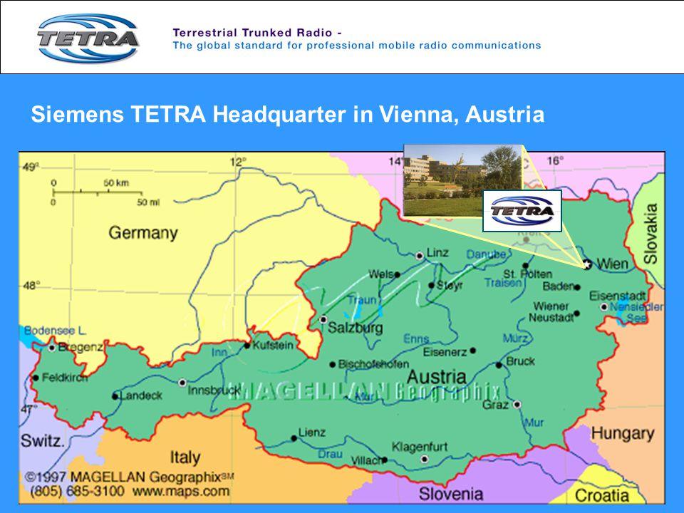 Siemens TETRA Headquarter in Vienna, Austria