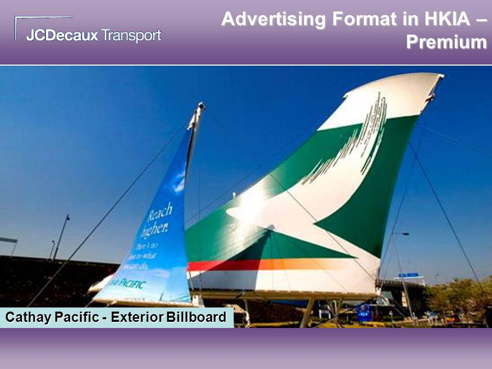 Advertising Format in HKIA – Premium