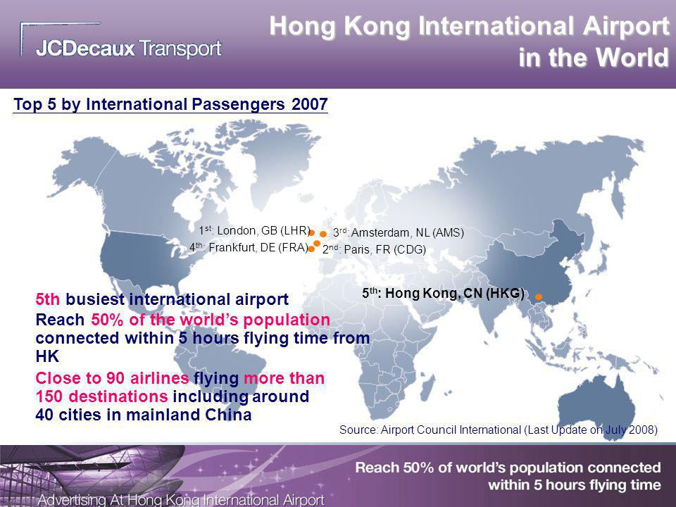 Hong Kong International Airport in the World