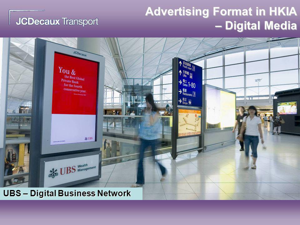 Advertising Format in HKIA – Digital Media