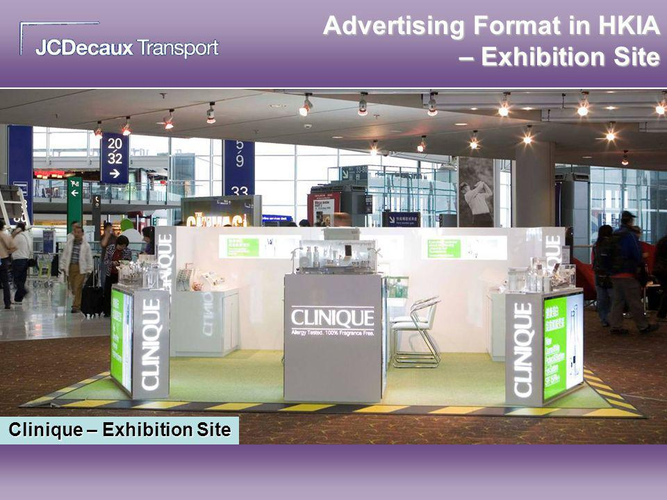 Advertising Format in HKIA – Exhibition Site