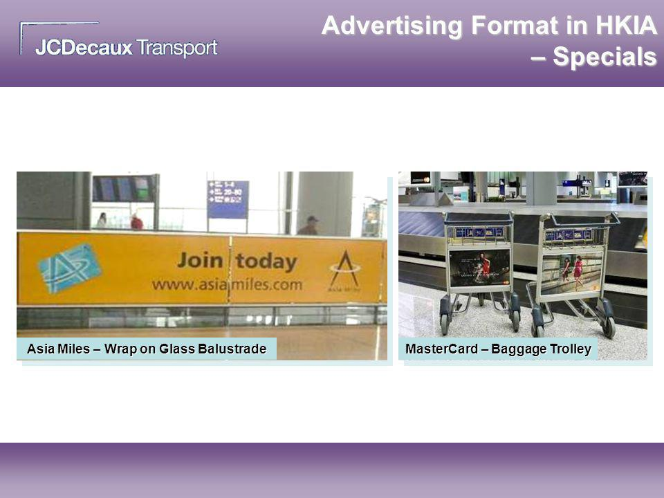 Advertising Format in HKIA – Specials