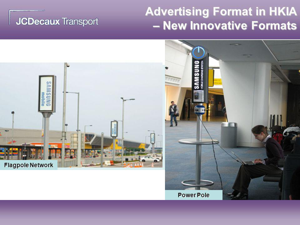 Advertising Format in HKIA – New Innovative Formats