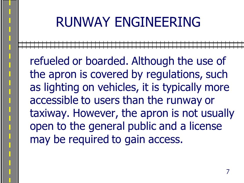 RUNWAY ENGINEERING